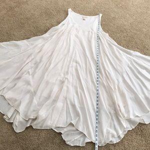 H&M size 10, off white sleeveless flowy dress .